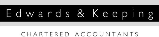 Edwards & Keeping - Accountants in Dorchester - logo